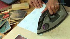 ToolGirl Mag Ruffman - Transferring Photo Images to Wood