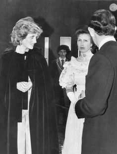 Memories Of Diana : Attending The Premiere Of 'A Passage To India' - March 18th 1985