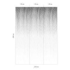 Décor mural - Au fil des Couleurs - Rain Drops