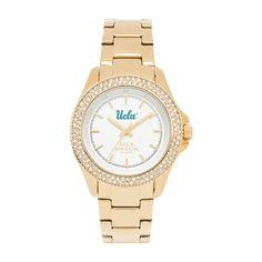 UCLA Bruins Glitz & Gold Sport Bracelet Watch for Women