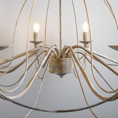 Candelabro ZERO BRANCO 8 taupe #lamparas #decoracion #iluminacion