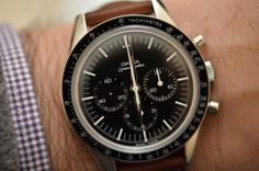 "Omega - ""the First Omega in Space"" Speedmaster"