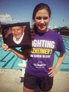 Fifteen-year-old Grace Arredondo is putting her passion to work on Alzheimer's Association: The Longest Day. She'll swim 16 miles in honor of her grandfather and all those lost to Alzheimer's disease.