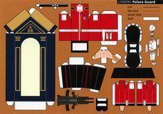 Make City, London, Palace Guard - Cut Out Postcard | Flickr - Photo Sharing!