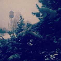 #RMCAD water tower / photo by that_art_kid on #instagram #snow