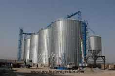 Grain Dryer, Grain Storage, Grain Silo, Long Term Storage, Chemical Industry, Tractors, Skyscraper, Concrete, Grains