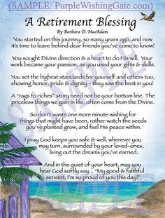 Teacher Retirement Poem Gift   Sayings   Pinterest ...