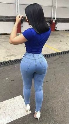 Superenge Jeans, Sexy Jeans, Skinny Jeans, Curvy Outfits, Girl Outfits, Corpo Sexy, Slim Fit Dress Pants, Pretty Black Girls, Curvy Women Fashion