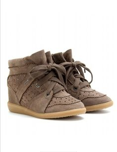 isabel marant sneakers-people pay a lot of money for these ugly things.