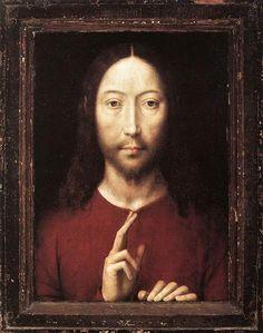 Cristo que da su bendición, 1481 - Hans Memling