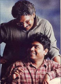 Mani Ratnam and A. Rahman together for the movie Roja. Ever green songs. Real Hero, My Hero, Green Song, Mani Ratnam, A R Rahman, Makeup Makeover, Tanjore Painting, Very Happy Birthday, Indian Celebrities