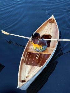 Wooden Boat Plans - 12' Peapod - Arch Davis Designs