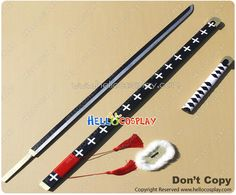 One Piece Cosplay Trafalgar Law Katana Sword Weapon Prop