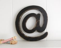$32 Geekery AT wood wall sign typography Geek Black by OldNewAgain