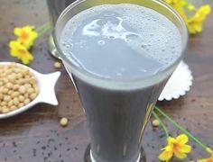 Cách làm sữa đậu nành mè đen ngon