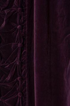 Parlor Curtain  Dark Purple Curtains
