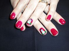 Shellac with snowmen.