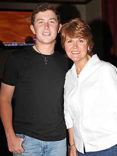 "Country Stars' No. 1 Fans: Their Mamas | SCOTTY MCCREERY  | McCreery's mom Judy likes to tell stories about her young son giving his own Elvis-inspired shows in the back of his school bus. ""His bus driver would say, 'We really love his Elvis concerts,' and I was mortified, thinking he was being a behavioral problem,"" Judy told WRAL News in 2011. ""But she said, no, she liked it because the kids would sit there quietly and watch him sing."""