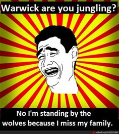 LOL Warwick Jungling : League of Legends