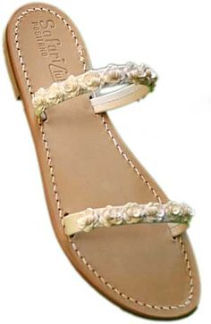 d1991495f317 More Handmade Sandals in Positano - these are very delicate Palm Beach  Sandals