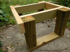 Cheap one hive bee stand with instructions on how to build