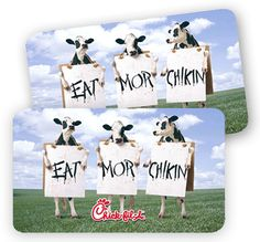 Chick-fil-A: Cards