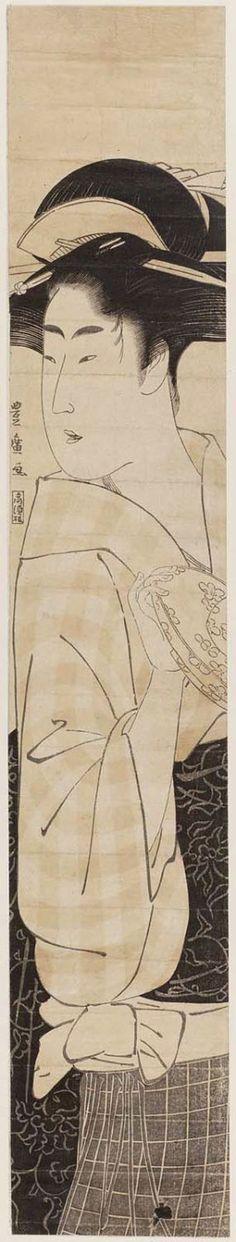 Toyohiro Utagawa / Teehauskellnerin