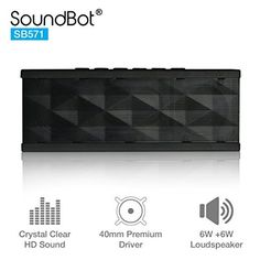 - Bluetooth Portable Speaker Crystal Cle 3rd Gen Creative Oontz Angle 3 Louder Volume