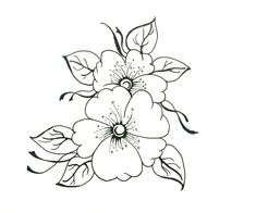 easy drawings drawing nice flower pencil sketch draw elements paintingvalley sketches embroidery dreass tutorials