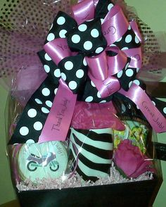 thank you gift basket for Secretary