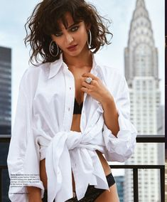 Celia Becker Embraces Lingerie Styles for Venice Magazine