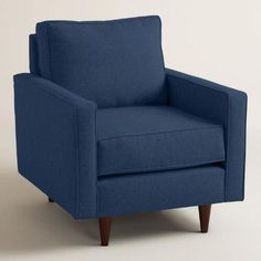 One of my favorite discoveries at WorldMarket.com: Chunky Woven Nashton Upholstered Chair