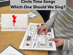 This is one of my student's favorites. I have used this for years to allow students to pick the song or poem we do. I switch the songs out to introduce new material.Rakovic Speech and Language Chat