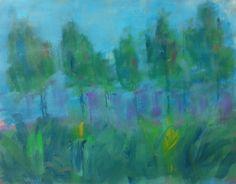 Mixed Media Landscape, Brian Quashnock
