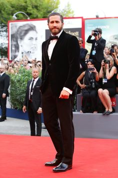 Pin for Later: All' der Hollywood Glamour beim Filmfest in Venedig Jake Gyllenhaal