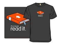 It's a Book - Shirt.Woot