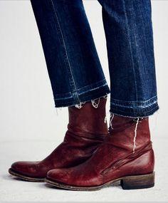 782acce131b2 2016 Современная Винтаж Trend Зима Молнии Плоские Женщины Острым Носом  Кожаные Ковбойские Ботинки Ручной Работы Chelesa