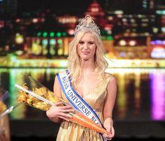 Urška Bračko Crowned Miss Universe Slovenia 2014 - Beauty Pageant News Miss Universe 2014, Miss Congeniality, Teen Usa, Beauty Pageant, Beauty Queens, Slovenia, Wonder Woman, News, Fashion