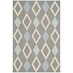 A bold diamond motif makes the Safavieh Kids Indoor Area Rug a stylish addition to any child's bedroom. This geometric area rug features. Coloring For Boys, Carpet Runner, Runes, Colorful Rugs, Rug Size, Size 2, Area Rugs, Kids Rugs, Handmade