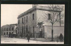 remarquable CPA Bizerte, La Poste