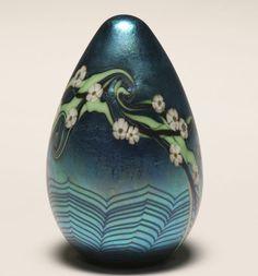 Orient & Flume Art Glass Paperweight