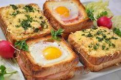 Горячий бутерброд с ветчиной и сыром | Вкусно готовим дома