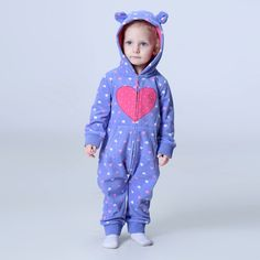 Orangemom official store 2018 spring baby rompers soft fleece baby girl clothes one- pieces girls coat baby clothing set Cute Kids Fashion, Baby Girl Fashion, Winter Baby Boy, Cute Store, Baby Shop, Outfit Sets, Kids Outfits, Baby Rompers, One Piece