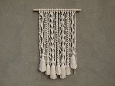 "Image of Macrame wall hanging ""Boho"""