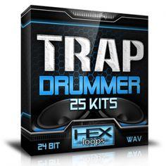Best Trap, Hip Hop Drum, Drums, Kit, Flip Clock, Packing, Construction, Studio, Bag Packaging
