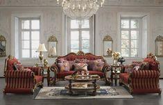 lámpara preciosa en el salón al estilo victoriano
