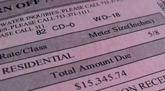 Houston family shocked to receive $15K water bill