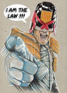 Judge Dredd by Josh N. *