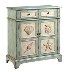 Hampton Accent Cabinet in Green | Stein World Furniture | Home Gallery Stores