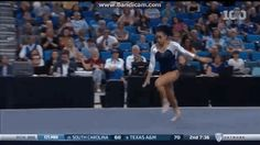 She does some pretty insane gymnastics stuff, like this flippy-dippy thing that probably should have been in the Super Bowl halftime show… | This Diva Gymnast's Epic Performance Will Blow You Away
